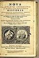 Nova plantarum, animalium et mineralium Mexicanorum historia 1651 title page.jpg