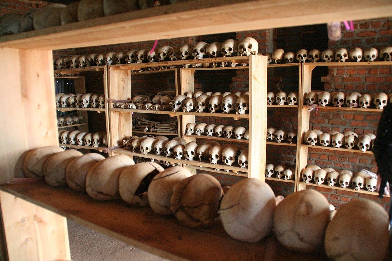 Ntrama Church Memorial - Skulls of genocide victims.jpg