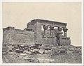 Nubie. Temple de Déböd. Parembole de l'itinéraire d'Antonin MET DP116190.jpg