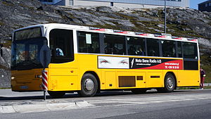 Qinngorput - Nuup Bussii transportation.
