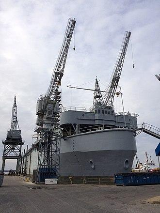 USS Oak Ridge (ARDM-1) - USS Oak Ridge (ARDM-1)
