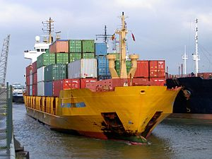 OPDR Cartagena IMO 9155432 going into Berendrecht lock Port of Antwerp 27-Apr-2005.jpg