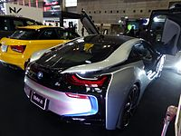 OSAKA AUTO MESSE 2015 (106) - BMW i8.JPG