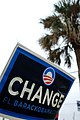 Obama sign in Florida - US Election Day 2008 (3005534608).jpg