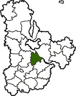 Obukhiv Raion Subdivision of Kyiv Oblast, Ukraine
