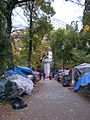 Occupy Portland November 2, path.jpg