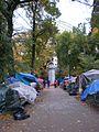 Occupy Portland November 2, path.jpg