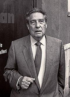 Octavio Paz besøgte Malmö-Internationale Poesifestival i 1988.