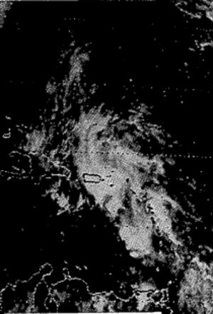 1985 Puerto Rico floods - Image: October 1985 PR sat image