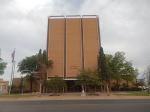 Odessa, Texas - Odessa City Hall in April 2014