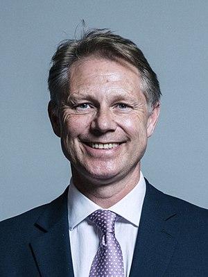 David Morris (Conservative politician) - Official parliamentary portrait 2017