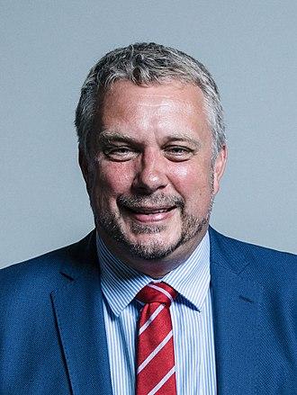 Steve Double - Image: Official portrait of Steve Double crop 2