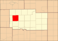Ogle County Illinois Map Highlighting Lincoln Township.png