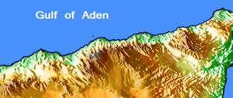 Ogo Mountains - Image: Ogo Mountains Map