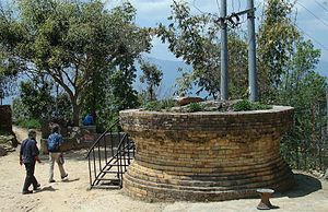Okhaldhunga District - Okhaldunga name originated from this big old Mortar/Okhal in Nepali