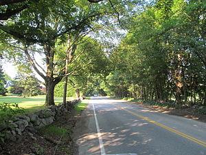 Old Connecticut Path - Old Connecticut Path in Wayland, Massachusetts