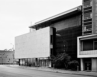 Old Dallas Central Library - Image: Old Dallas Central Library Exterior