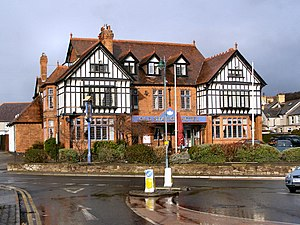 Llandudno Junction - Image: Old Station Hotel geograph.org.uk 1716467