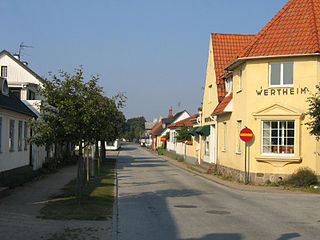 Skanör med Falsterbo Place in Scania, Sweden