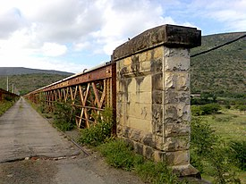Old road bridge on Great Kei River.jpg