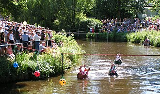 Haaren (river) - Image: Oldenburg Waschzuber Regatta