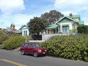 Grey Lynn - Older villas in the south of the suburb