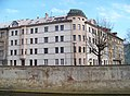 Olomouc, Morava, Nábřeží, Praskova 1 a 3.jpg