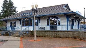 Centennial Station - Centennial (Olympia-Lacey) Amtrak Depot