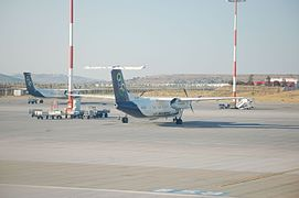 Olympic Air SX-BIP and SX-OBD in Athens.jpg