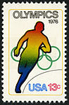 Olympic Games Running 13c 1976 issue U.S. stamp.jpg