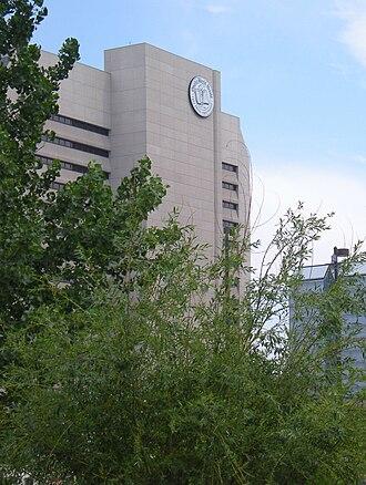 Omaha World-Herald - The Omaha World Herald Building in Downtown Omaha