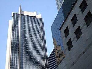 Noggin (brand) - One Astor Plaza, where Noggin's current headquarters are located.