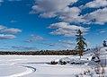 One Pine Lake Snowmobile Trail, Northern Minnesota (39895277465).jpg