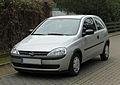 Opel Corsa 1.2 16V ECOTEC (C) – Frontansicht, 1. April 2011, Mettmann.jpg