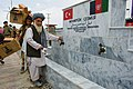 Openning ceremony of a fountain in Afghanistan 6.jpg