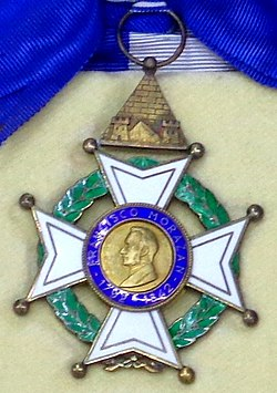 Order of Francisco Morazan grand cross badge (Honduras 1960-1980) - Tallinn Museum of Orders.jpg