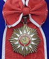 Order of May grand cross badge sash (Argentina) - Tallinn Museum of Orders.jpg