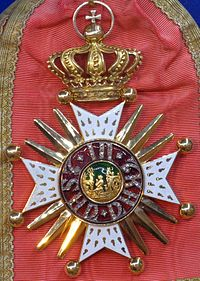 Order of Saint Hubert badge (Bavaria 1907) - Tallinn Museum of Orders.jpg