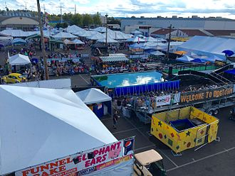 Oregon State Fair - View of part of the 2016 state fair