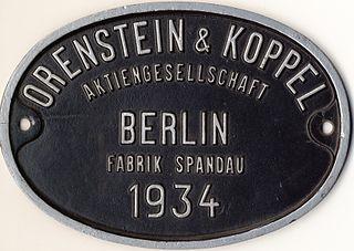 Orenstein & Koppel company