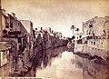 Oriola, vista del riu Segura des de llevant, 1870, J. Laurent.jpg