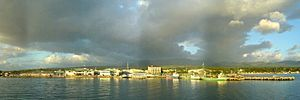 Ormoc - View of Ormoc from Ormoc Bay