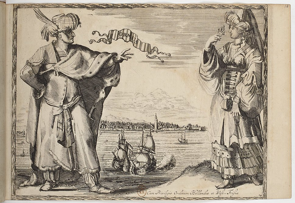 Ormus -Hormuz- - Costumes des quatre parties du monde, gravés dans la manière de Luycken (1670)
