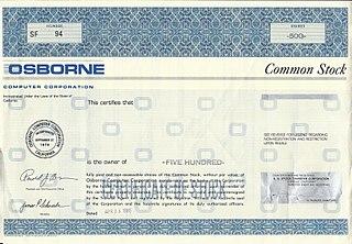 Osborne Computer Corporation