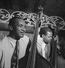 A Great Day In Harlem 1958 in addition Party Time  Ar t Cobb album additionally File 52nd Street  New York  by Gottlieb  1948 also 42 additionally Solo Piano  Phineas Newborn  Jr. on oscar pettiford wiki