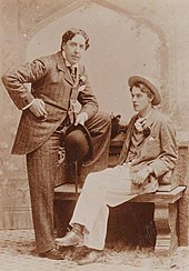 Wilde And Lord Alfred Douglas In 1893
