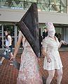 Otakon 2009. Pyrmid Head and Nurses from Silent Hill 2.jpg