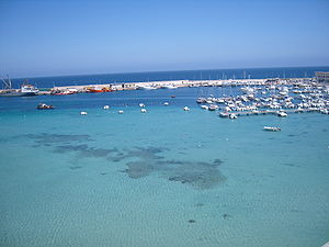 Salento - Otranto harbour.