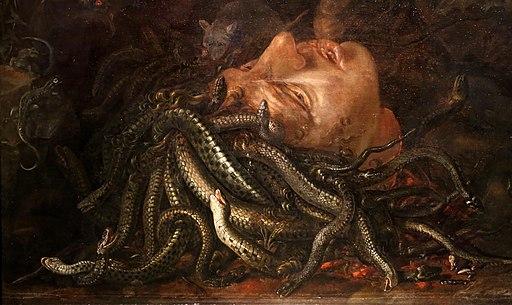 Otto marseus van schrieck (ambito), testa decapitata di medusa, 1600-50 ca. 02