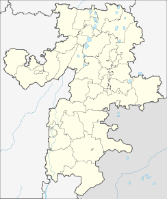 Chelyabinsk is located in Chelyabinsk Oblast